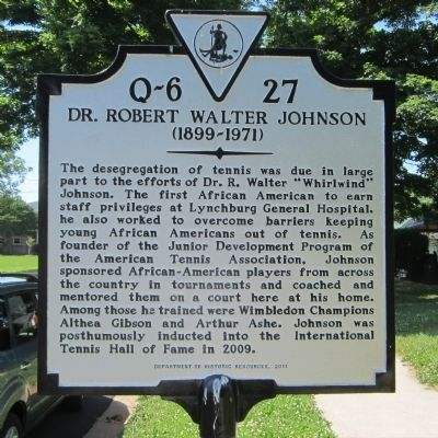 Dr. Robert Walter Johnson Marker image. Click for full size.