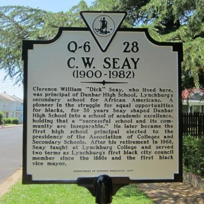 C.W. Seay Marker image. Click for full size.