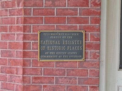August F. Poehler House Plaque image. Click for full size.