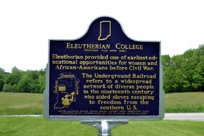Eleutherian College Marker image, Touch for more information
