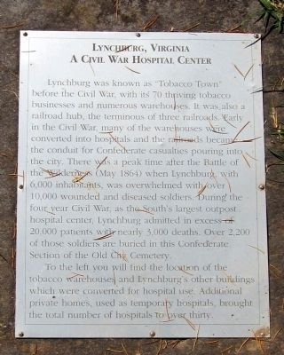 Lynchburg, Virginia Marker image. Click for full size.