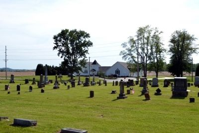 Driftwood Church and Cemetery image. Click for full size.
