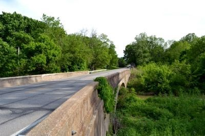 SR 135 Bridge Over Brock Creek image. Click for full size.
