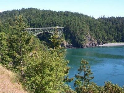 Deception Pass Bridge, South Span image. Click for full size.