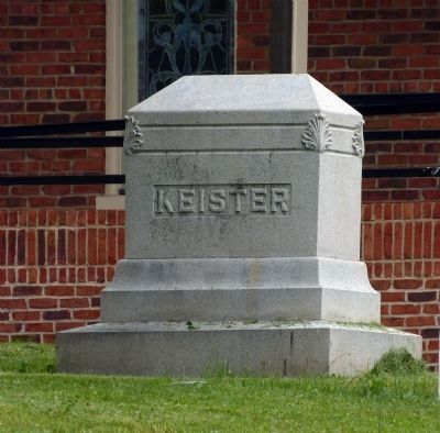Keister Family Monument image. Click for full size.