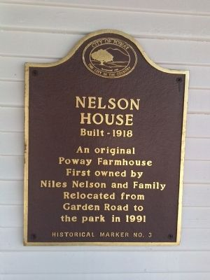 Nelson House Marker image. Click for full size.