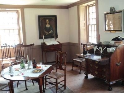 Washington's Office in Dey Mansion image. Click for full size.
