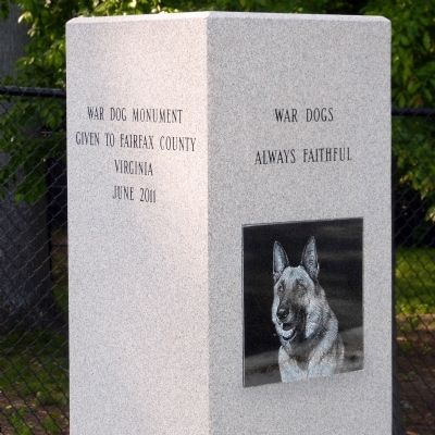 War Dogs Marker image. Click for full size.