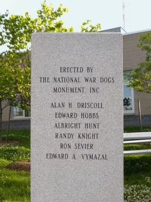 National War Dogs Monument Incorporated image. Click for full size.