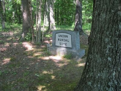 Union Burial Site Monument image. Click for full size.