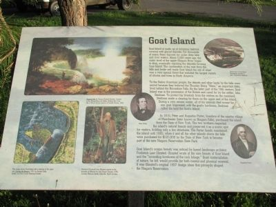 Goat Island Marker image. Click for full size.