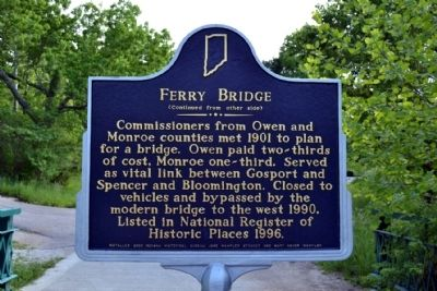 Ferry Bridge Marker image. Click for full size.