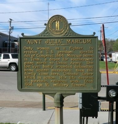 """Aunt Julia"" Marcum Marker image. Click for full size."