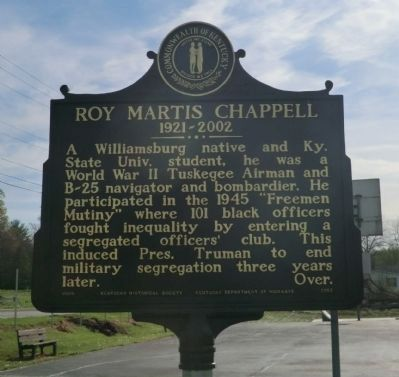Roy Martis Chappell Marker-Side 1 image. Click for full size.