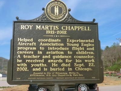 Roy Martis Chappell Marker-Side 2 image. Click for full size.