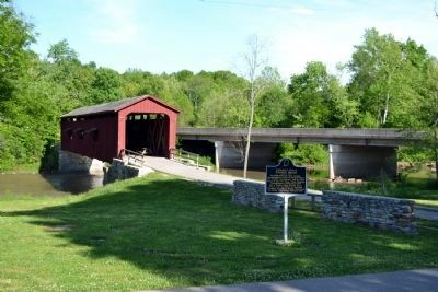 Cataract Falls Covered Bridge image. Click for full size.