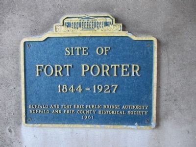 Fort Porter Marker image. Click for full size.