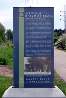 A History of the Winona Marker image. Click for full size.
