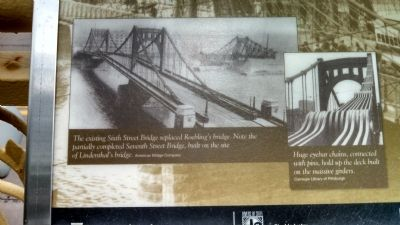 The Three Sisters Bridges Marker image. Click for full size.