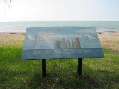 Toronto Skyline Marker and Horizon image. Click for full size.