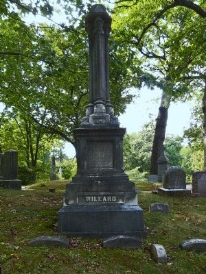 Willard Monument<br>Oak Hill Cemetery DC image. Click for full size.