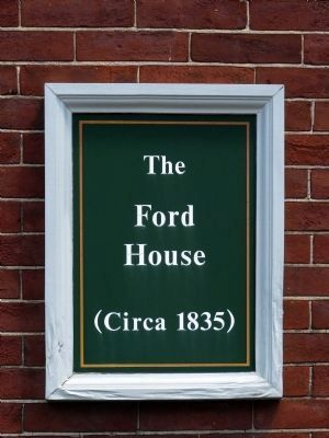 Ford Building Sign image. Click for full size.