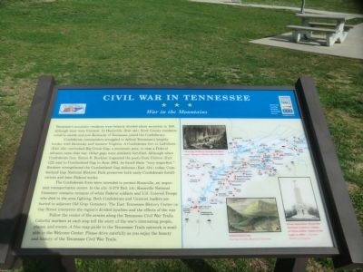 Civil War in Tennessee Marker image. Click for full size.