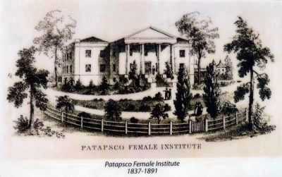 Patapsco Female Institute<br>1837-1891 image. Click for full size.