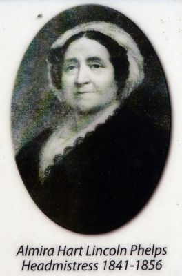 Almira Hart Lincoln Phelps<br>Headmistress 1841-1856 image. Click for full size.