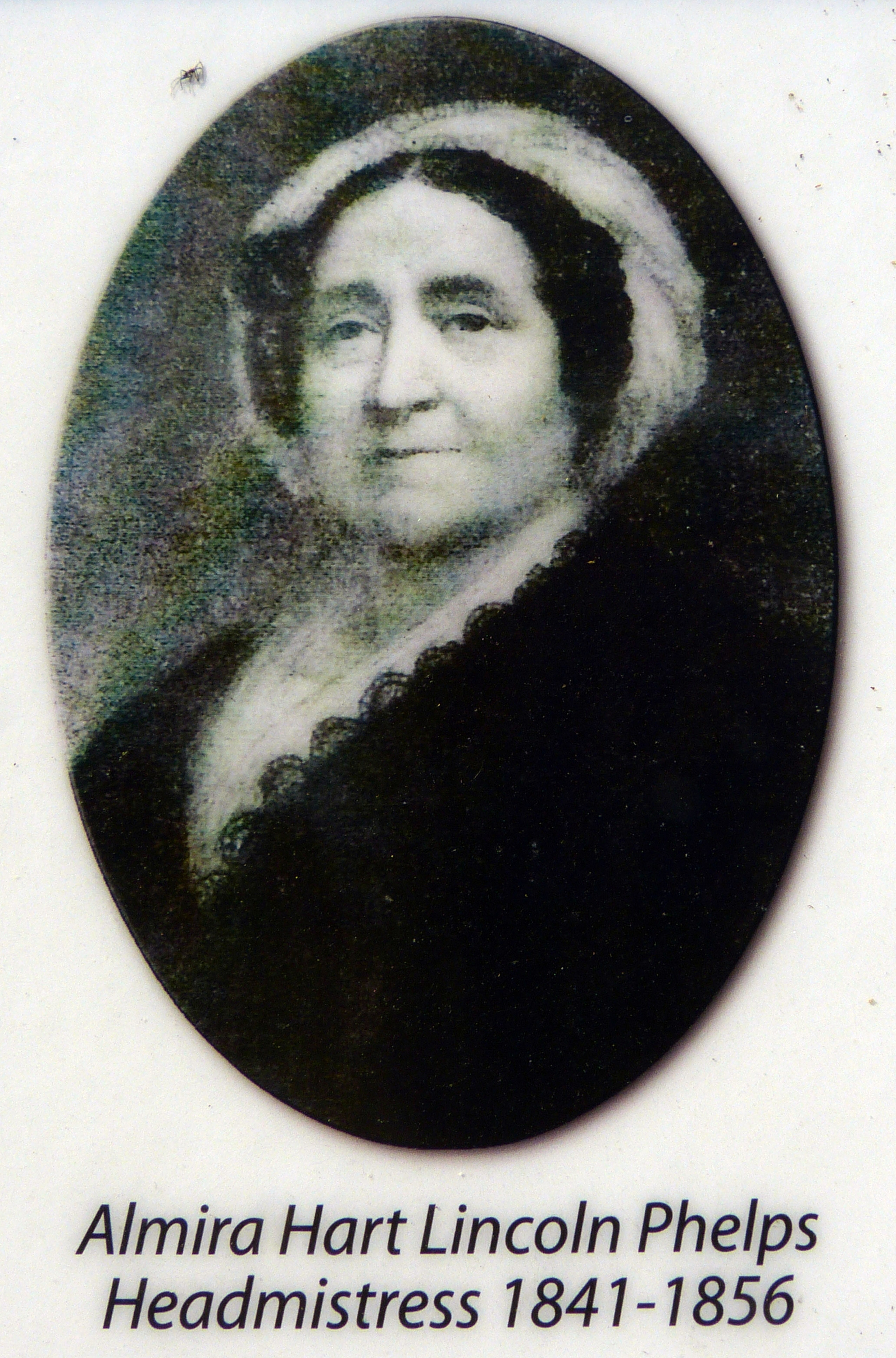 Almira Hart Lincoln Phelps<br>Headmistress 1841-1856