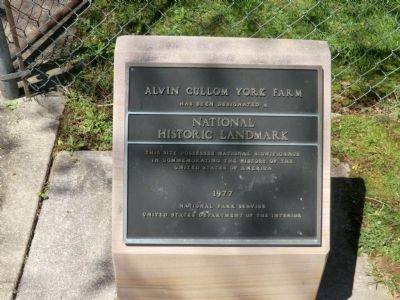 Alvin C York Farm-National Historic Landmark image. Click for full size.