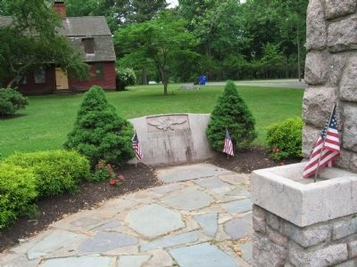 East Hartford World War II Monument image. Click for full size.