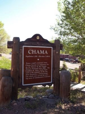 Chama Marker image. Click for full size.