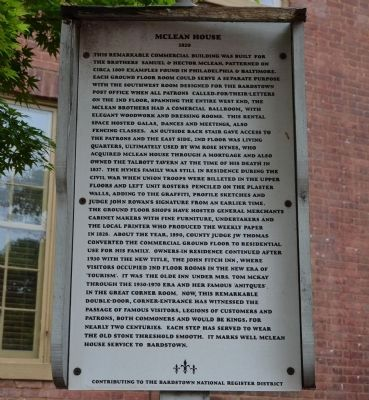 McLean House Marker image. Click for full size.