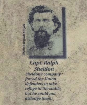 Captain Ralph Sheldon, C.S.A. image. Click for full size.