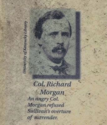 Col. Richard Morgan, C.S.A. image. Click for full size.
