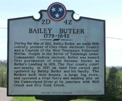 Bailey Butler Marker image. Click for full size.