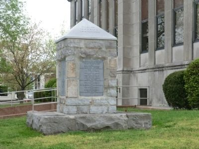 DeKalb Monument Marker image. Click for full size.
