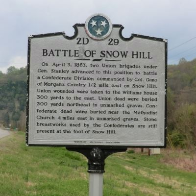 Battle of Snow Hill Marker image. Click for full size.