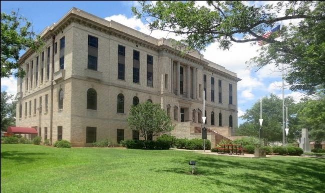 Burleson County Courthouse image. Click for full size.