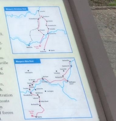 Close up of maps shown on the marker image. Click for full size.