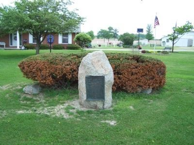 Camp Mississinewa Marker image. Click for full size.