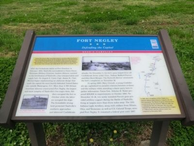 Fort Negley Marker image. Click for full size.