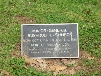 Major-General Bushrod R. Johnson image. Click for full size.