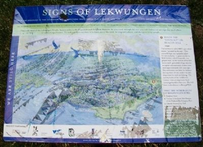 Signs of Lekwungen Marker image. Click for full size.
