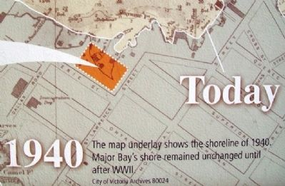 Map Detail on From Mudflat to Rain Garden Marker image. Click for full size.