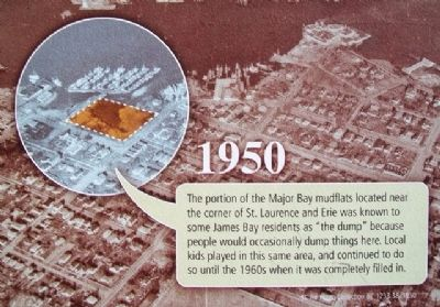 Photo on From Mudflat to Rain Garden Marker image. Click for full size.