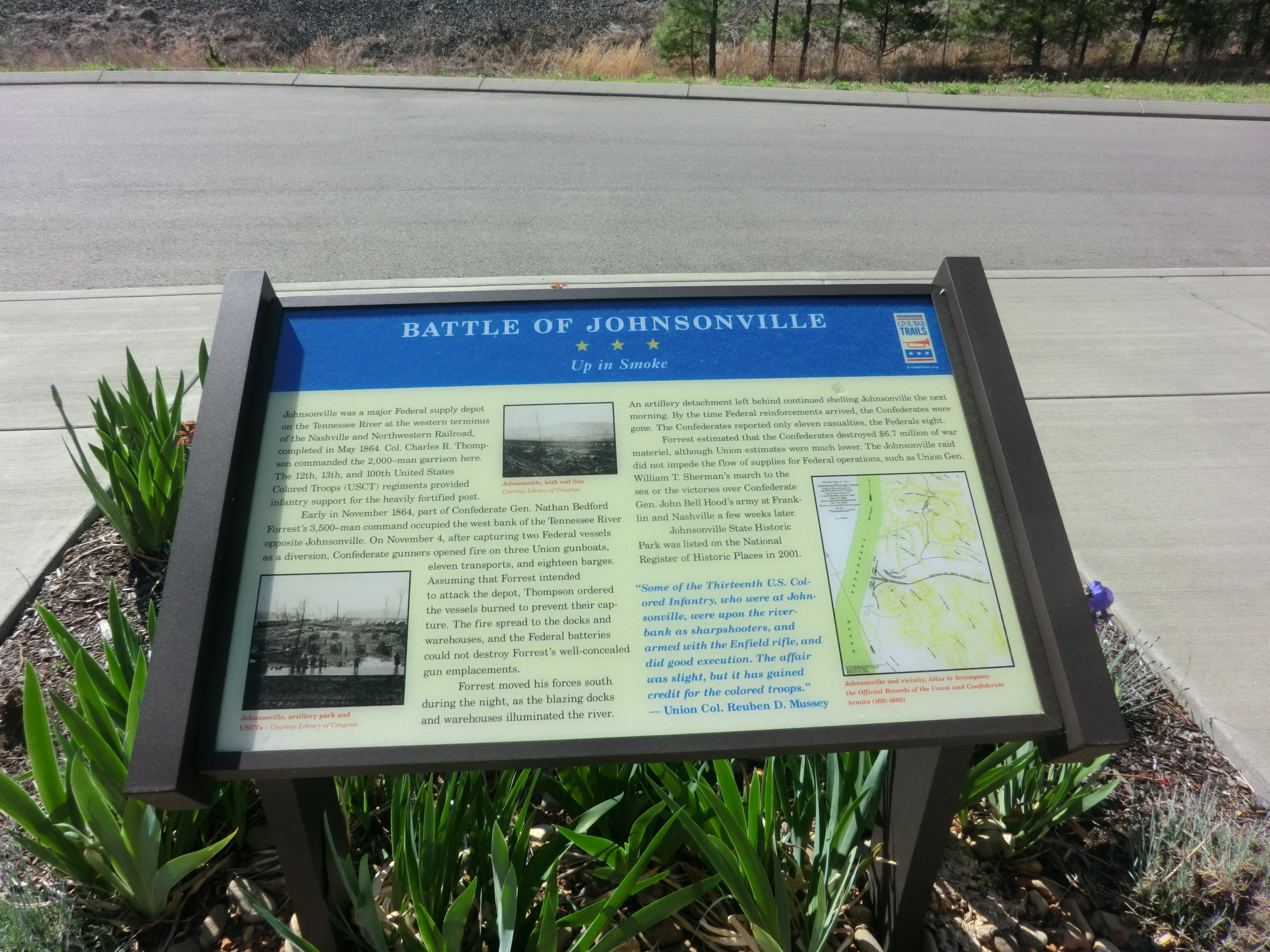 Battle of Johnsonville Marker