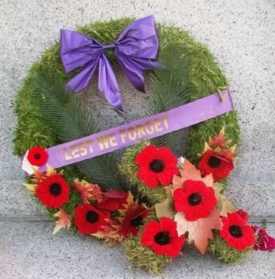 Wreath at Cenotaph image. Click for full size.