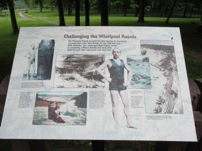 Challenging the Whirlpool Rapids Marker image. Click for full size.
